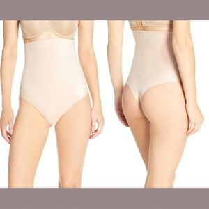 NWD Spanx Suit Your Fancy High Waist Thong Small